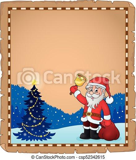 Santa Claus con temática 5 - csp52342615