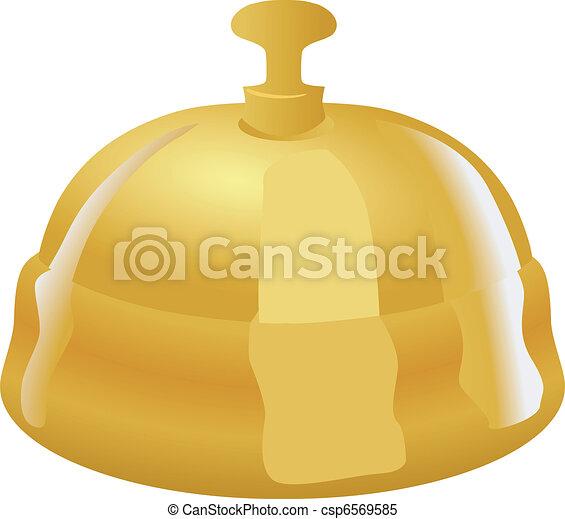 La campana de recepción - csp6569585