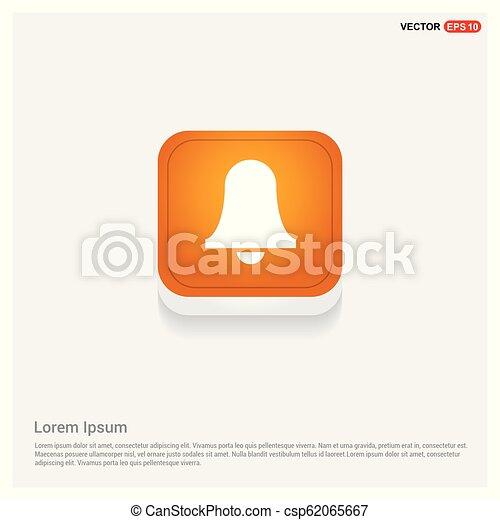 El icono de la campana - csp62065667