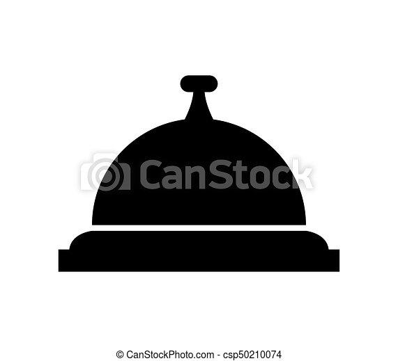 El icono de la campana de servicio - csp50210074