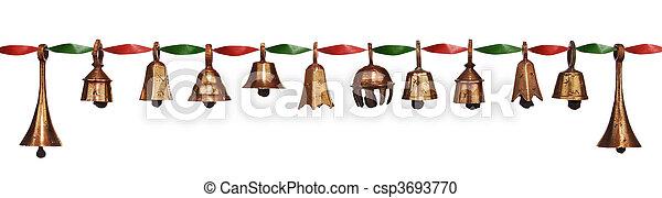 Campanas de Navidad - csp3693770