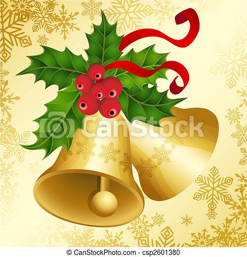 Campanas de Navidad - csp2601380