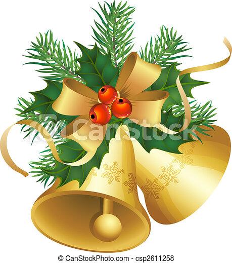 Campanas de Navidad - csp2611258