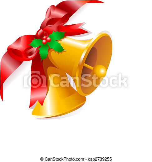 La esquina de las campanas de Navidad - csp2739255