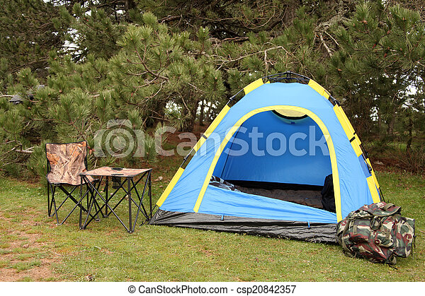 campeggio - csp20842357