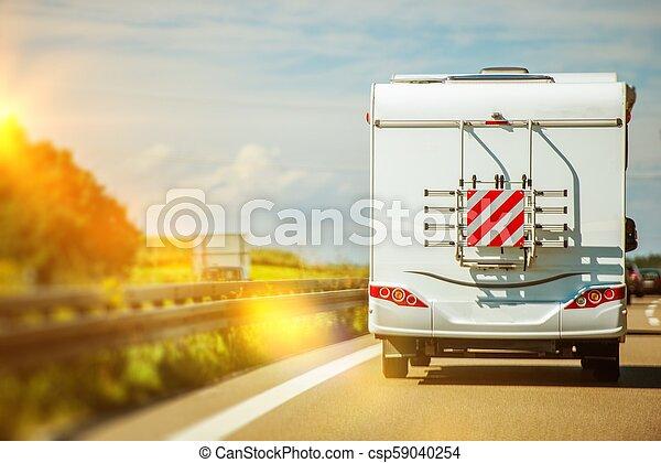 Camper Van Road Trip - csp59040254