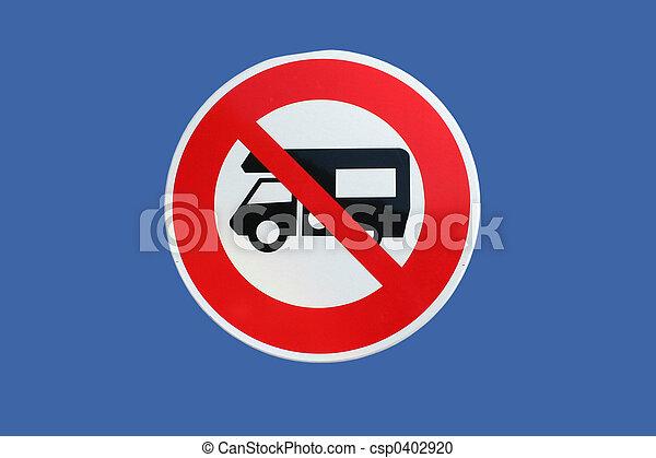 camper vans prohibited - csp0402920