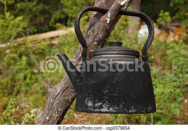Campfire coffee pot - csp0379654
