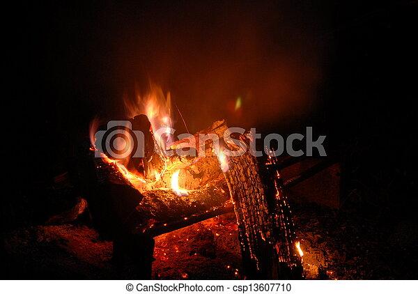Campfire - csp13607710