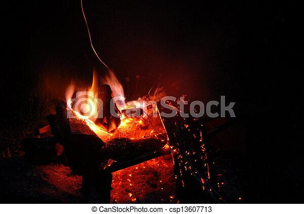 Campfire - csp13607713