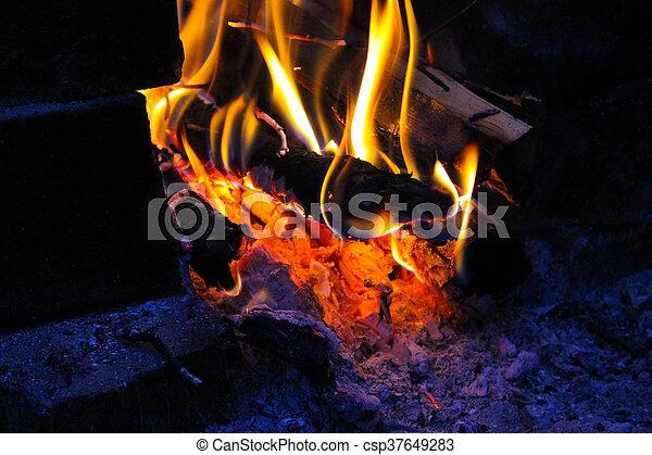 Campfire - csp37649283