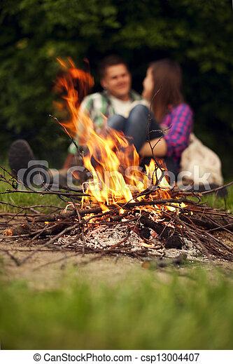 Campfire - csp13004407