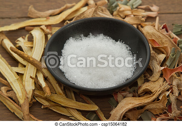 Camphor;used in herbal medicine - csp15064182