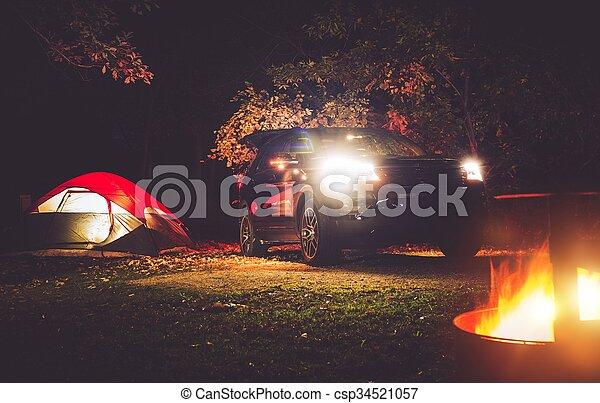Camping Adventure - csp34521057