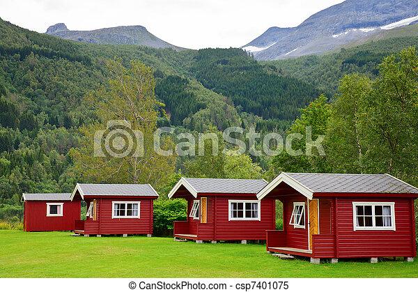 Camping cabins - csp7401075