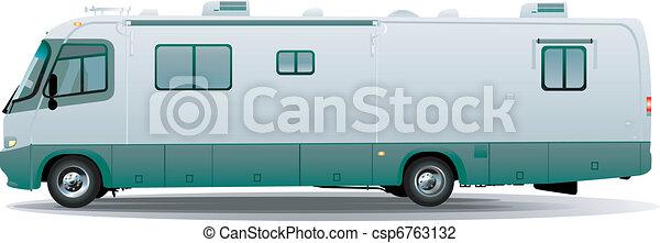 camping car, campeur, motorhome - csp6763132