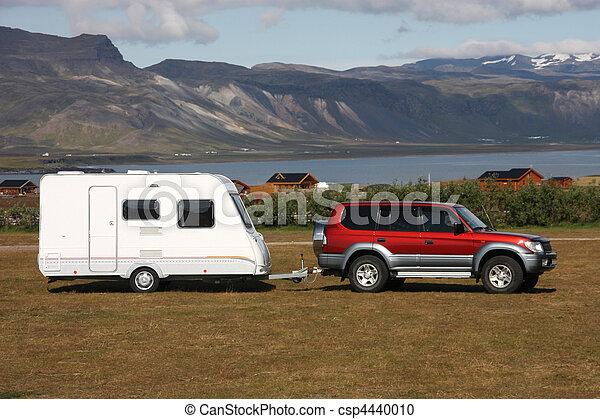 camping, caravane - csp4440010