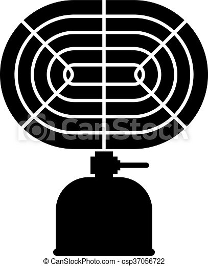 Camping heater infrared ray - csp37056722