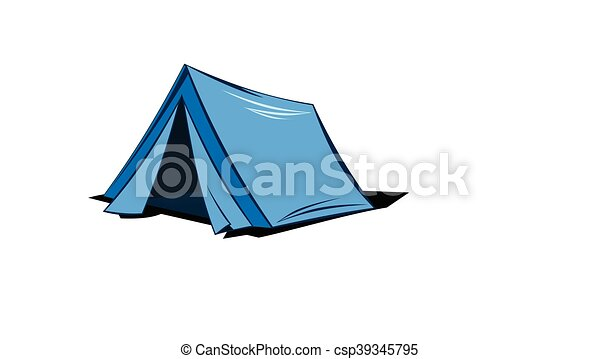An Illustration Of A Camping Tent Eps Vectors
