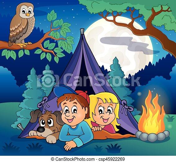 Camping theme image 5 - csp45922269