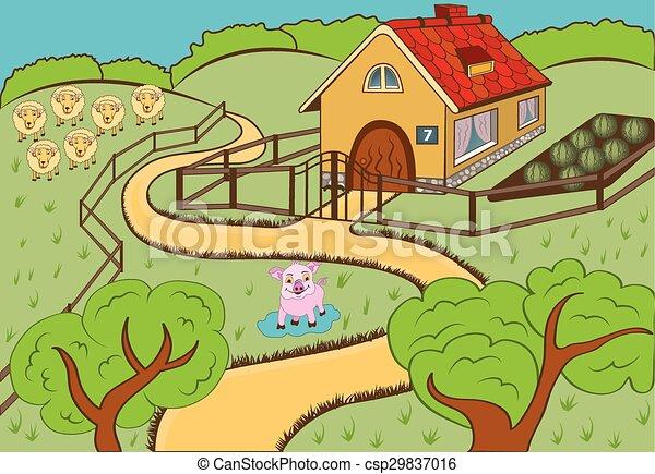 Countryside - csp29837016