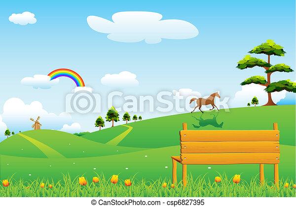Escena rural - csp6827395