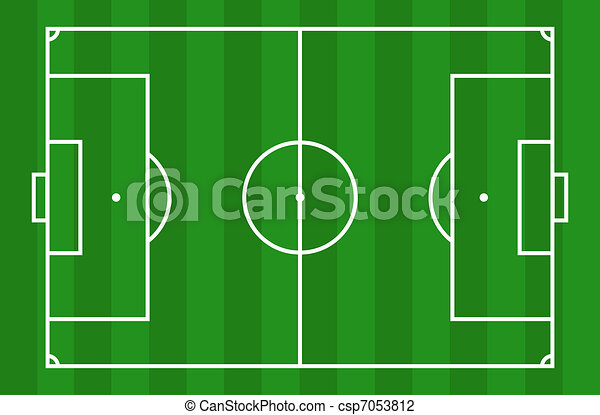 Campo de fútbol - csp7053812