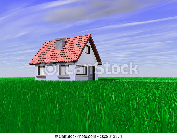 Casa en el campo - csp9813371