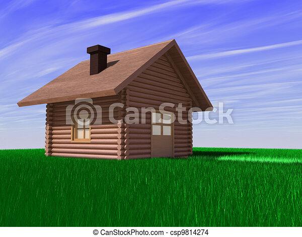 Casa en el campo - csp9814274