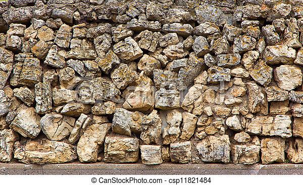 campo, pietra, fondale - csp11821484