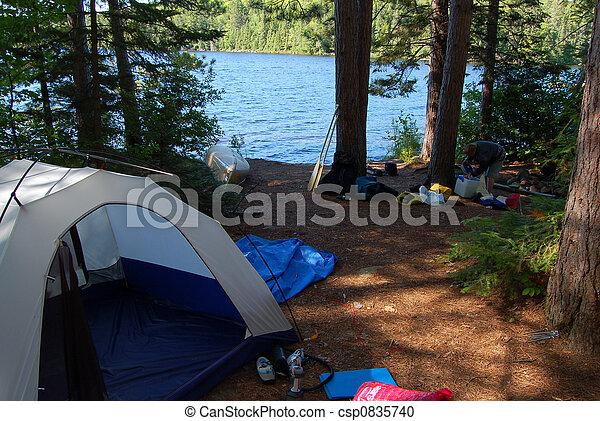 Campsite - csp0835740