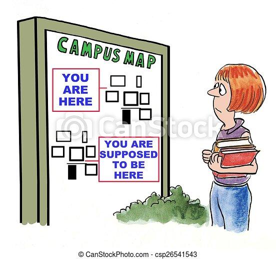 Campus Map - csp26541543