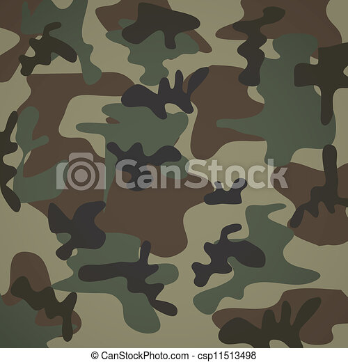 camuflage pattern - csp11513498