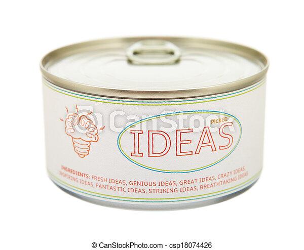 can., κασσίτερος , γενική ιδέα , creativity. - csp18074426