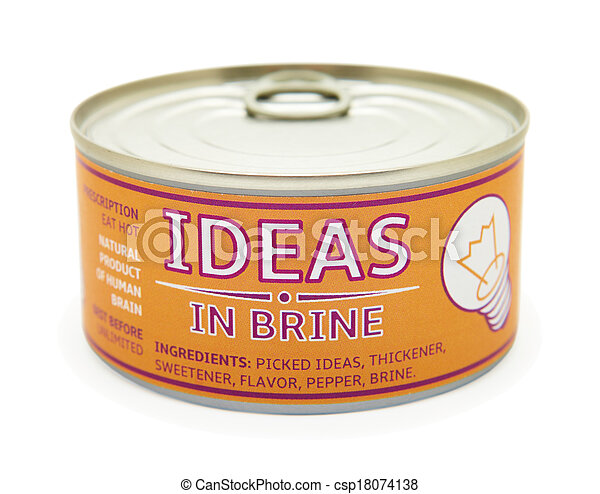 can., κασσίτερος , γενική ιδέα , creativity. - csp18074138