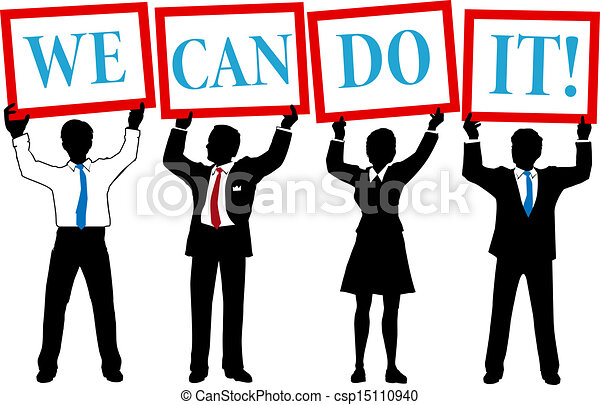 Can Do business people team - csp15110940