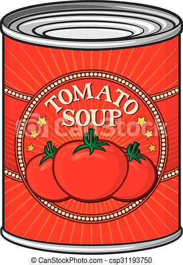 can of tomato soup  - csp31193750