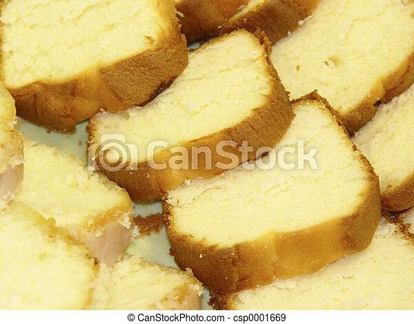 Pound Cake Clip Art : Stock Photographs of Pound Cake - Photo of Sliced Pound ...