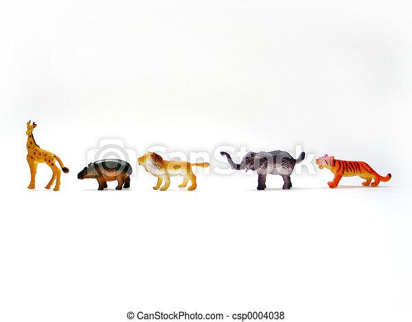 Toy Animals - csp0004038