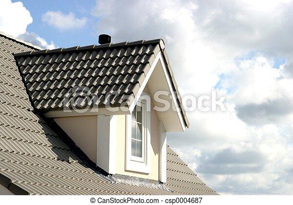 Immagini di casa tetto americano stile di for Nuovi piani di casa in stile americano