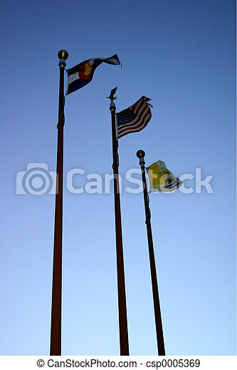 Flaggen,  4663 - csp0005369