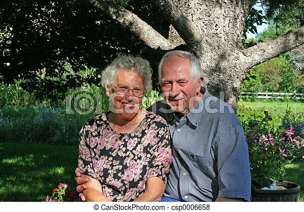 Elderly Couple - csp0006658