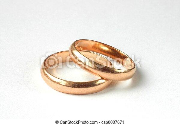 戒指, 婚禮 - csp0007671