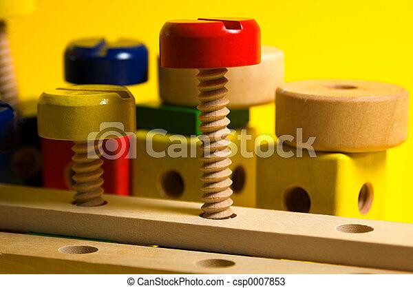 Wooden Toy Set - csp0007853