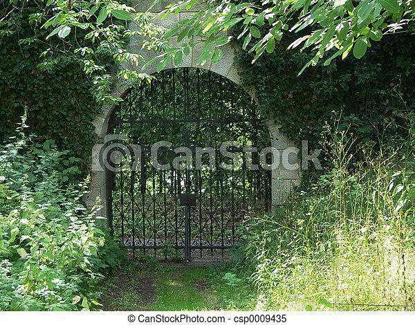 monastery gate - csp0009435