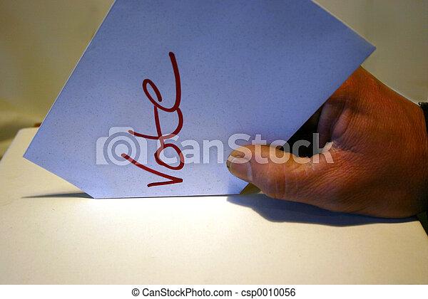 voto, tiro, acción - csp0010056