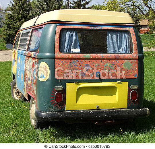 Hippie Van - csp0010793