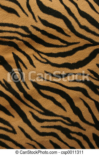 A fur texture of tiger strips great background.
