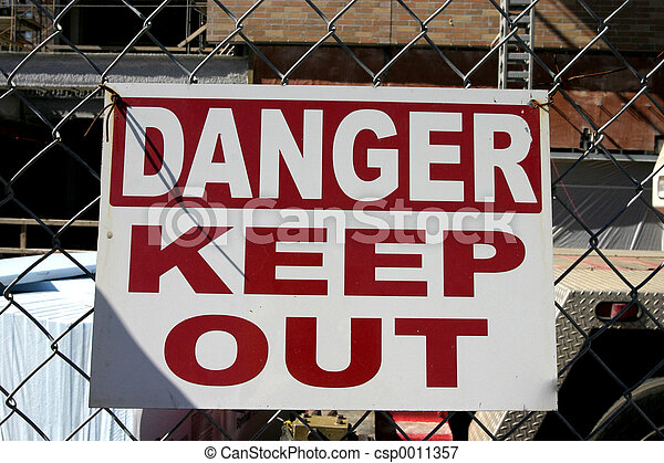 Danger Keep Out - csp0011357