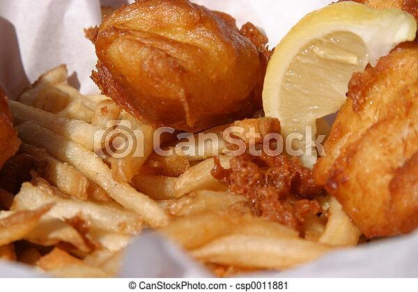 Fish-n-Chips #1 - csp0011881